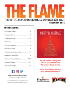 The Flame December Newsletter