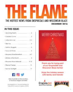 The Flame December Newsletter