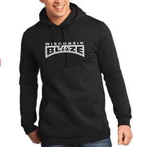 WI Blaze hoodie black