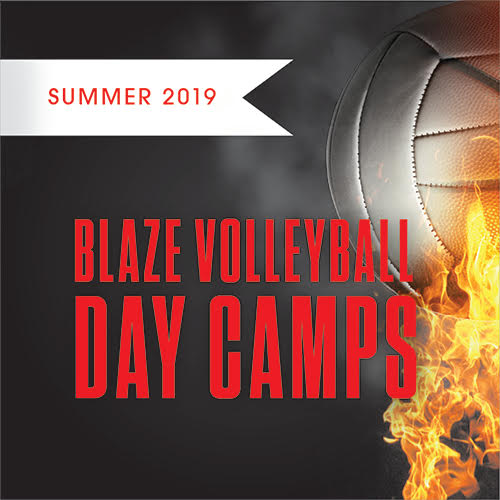 Blaze Volleyball Day Camp