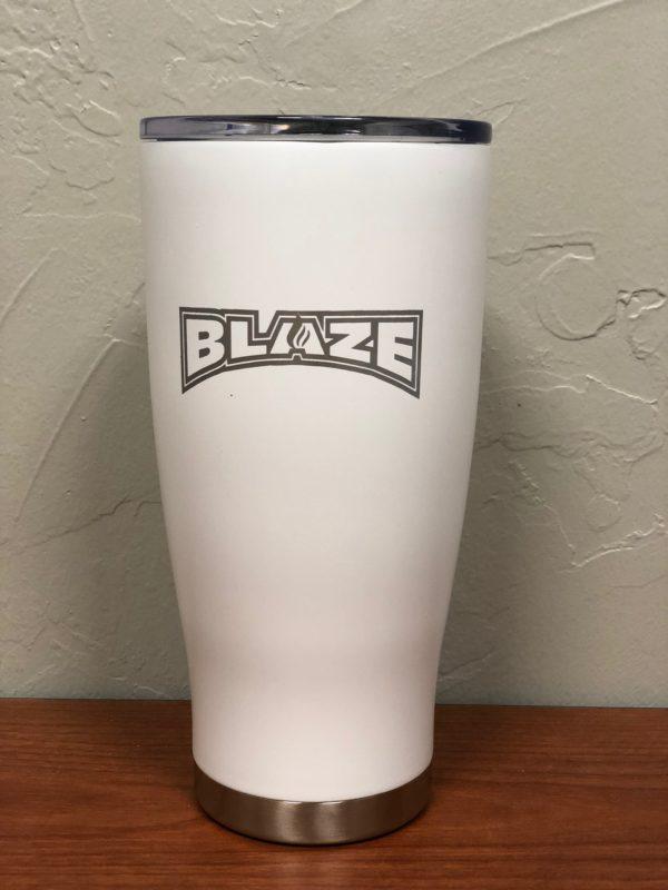 Blaze tumbler white