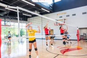 Blaze volleyball skill training