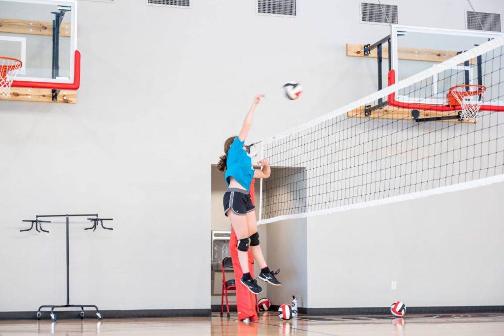 Blaze girls volleyball training