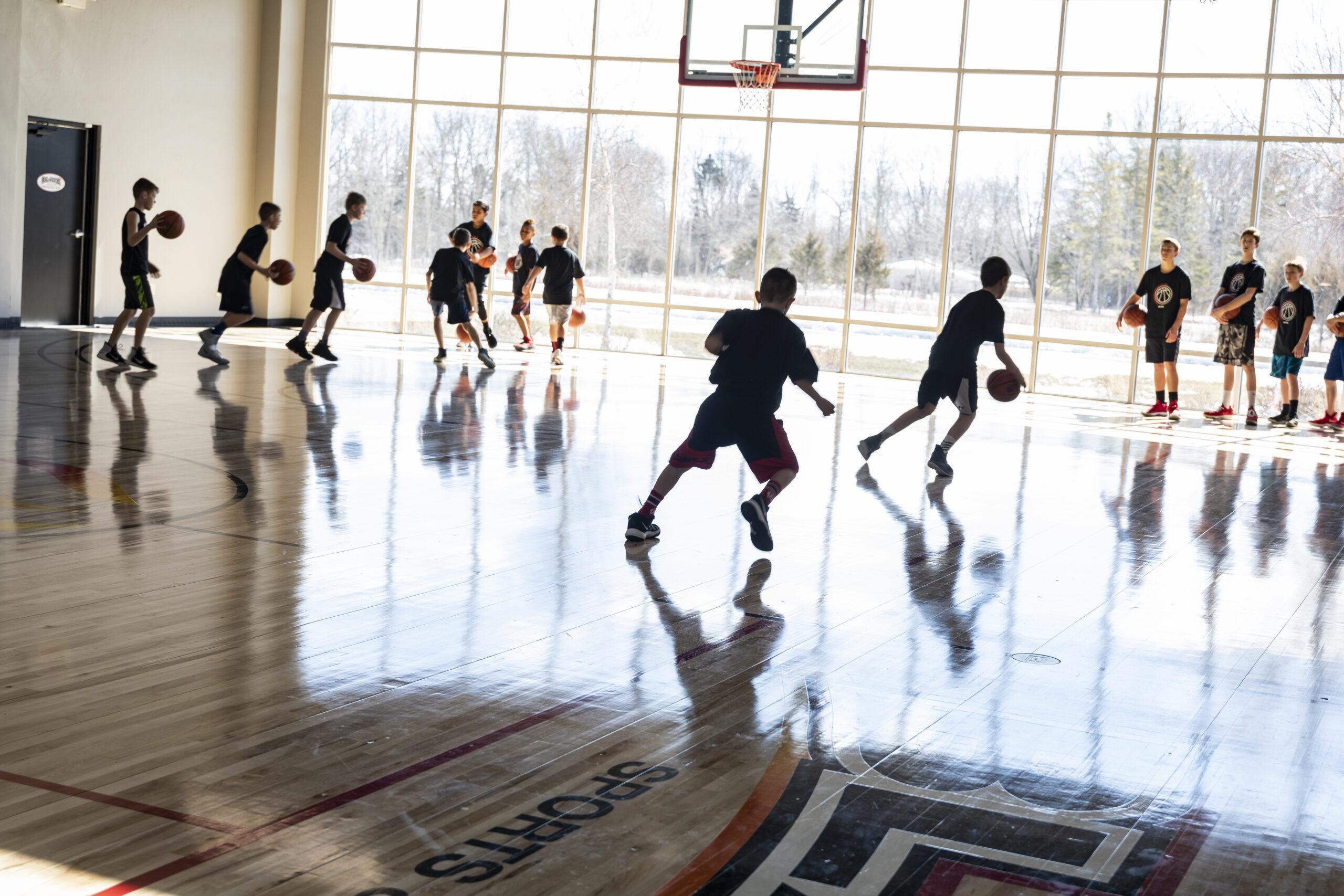 Blaze Basketball Champs Camp