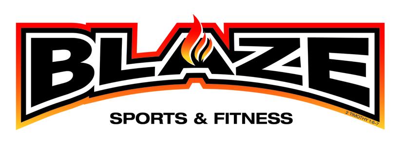 Blaze Sports and Fitness Logo cropped