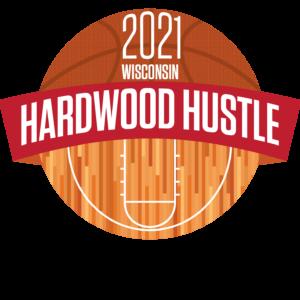 Hardwood Hustle 2021 Logo