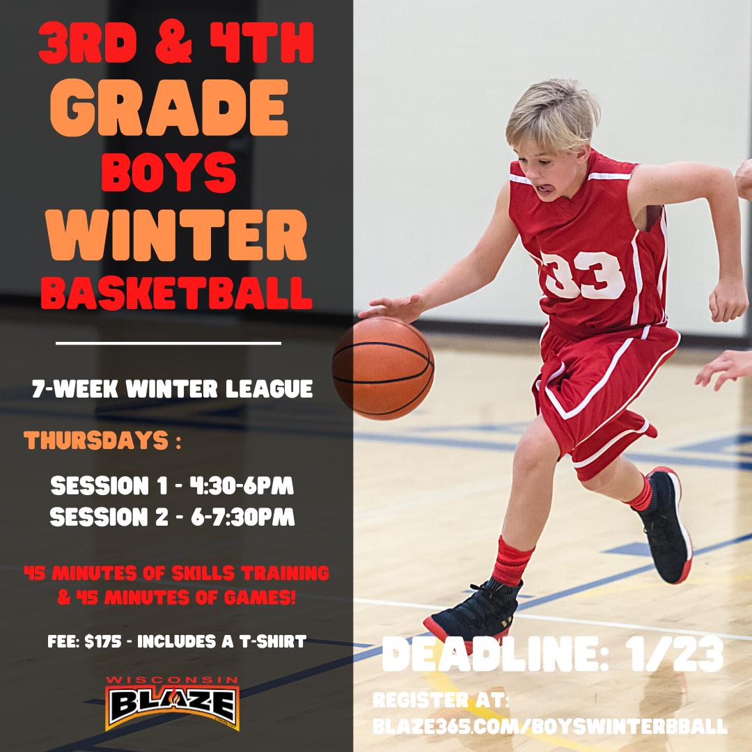 4th & 5th Grade Girls Winter League Basketball (6)