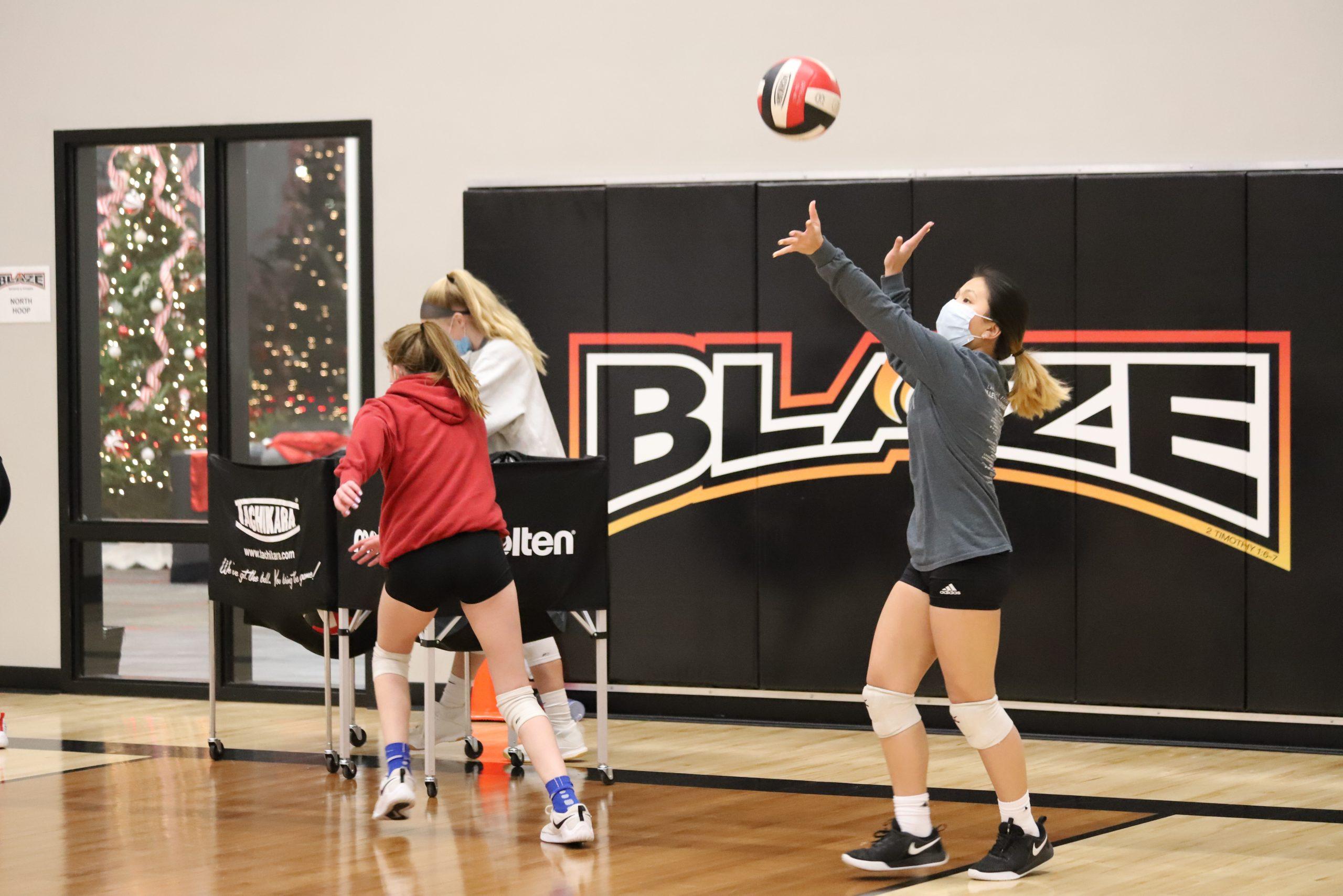 Volleyball Blaze